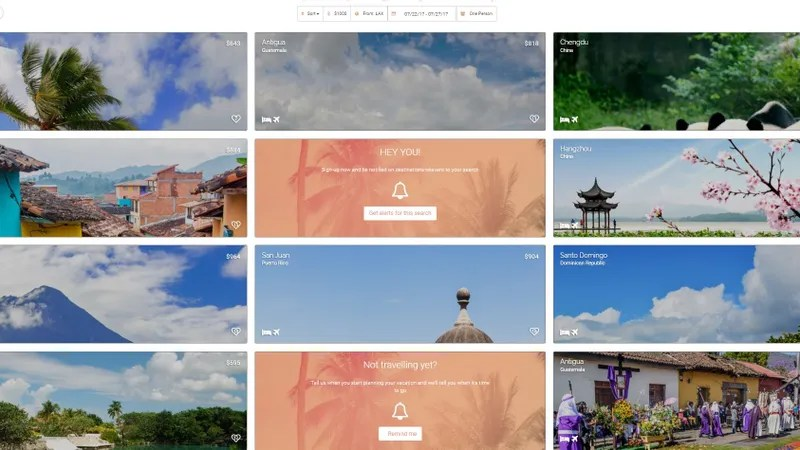 This Site Helps You Plan a Spontaneous Trip Around Your Budget
