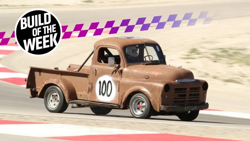 Racing a 1950 Dodge Truck Was the Easy Part