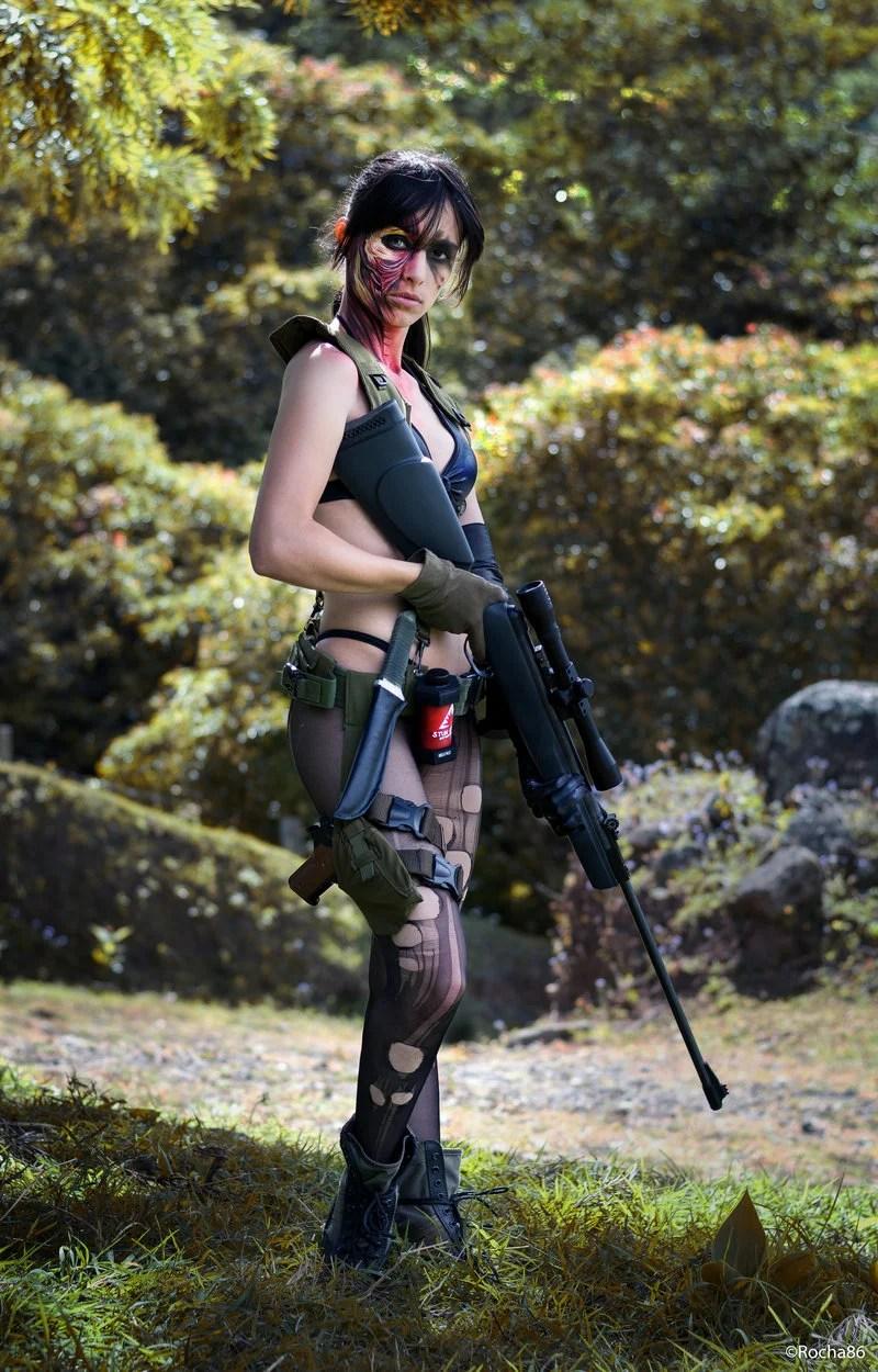 Punjabi Girl Hd Wallpaper Not Your Average Metal Gear Cosplay