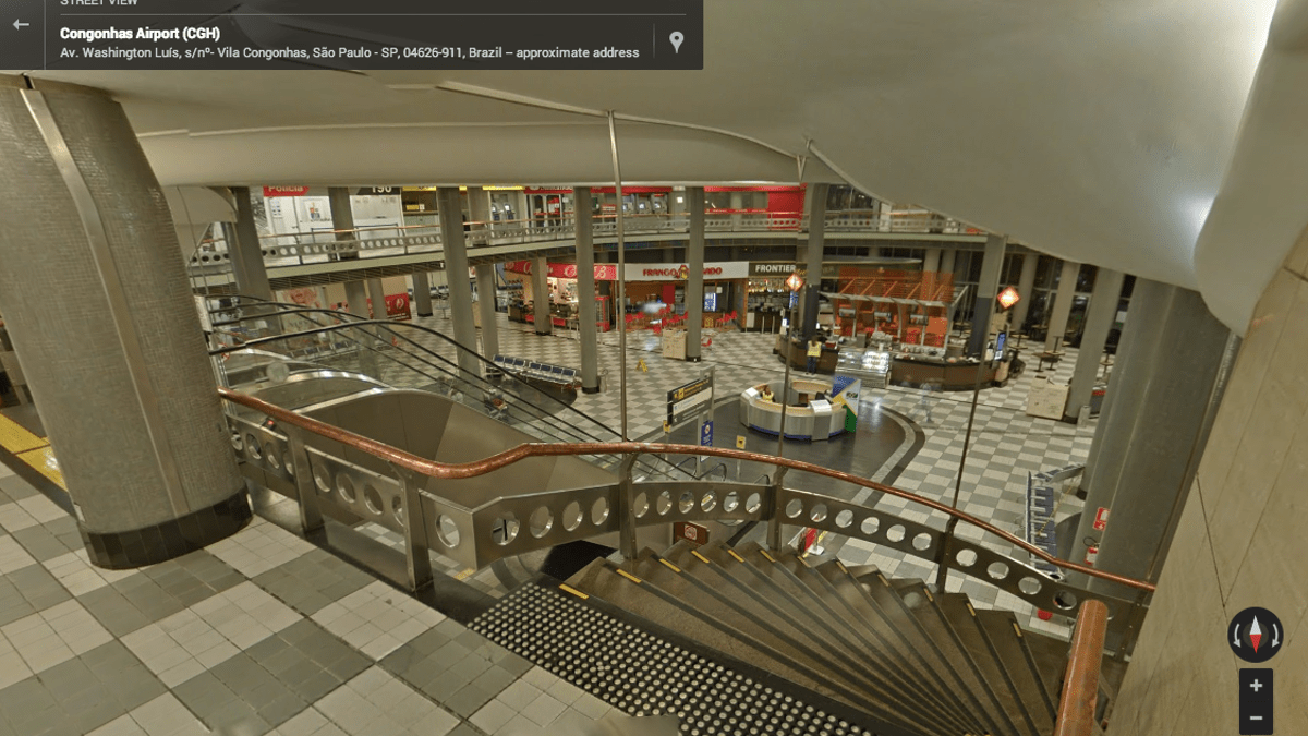 Camino Roma Est Google Street View Now Shows You The Inside Of Airports