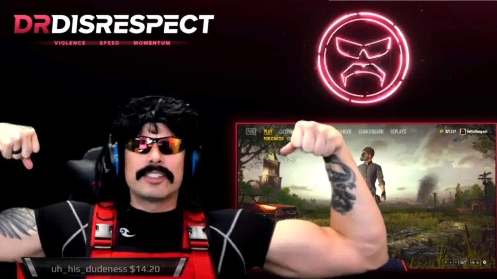 Otaku Quotes Wallpaper Dr Disrespect S Return To Twitch Brings 388 000 Concurrent