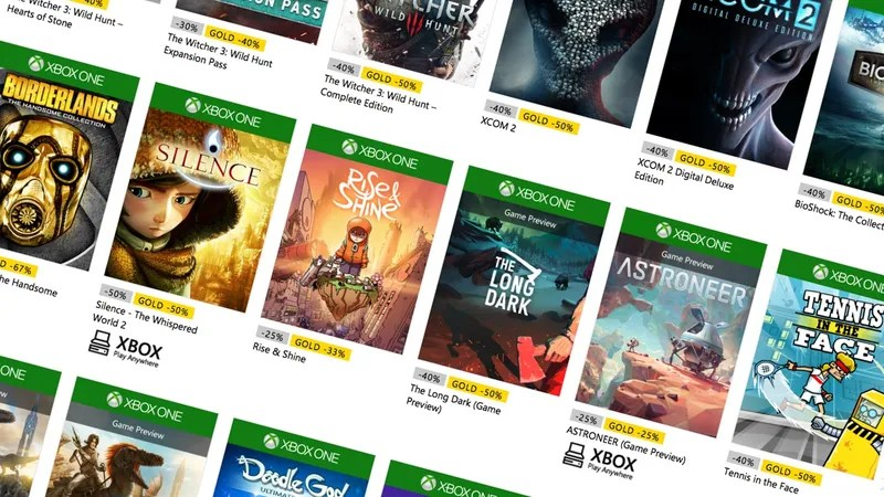 Stuff Your Xbox\u0027s Hard Drive During Microsoft\u0027s Spring Sale