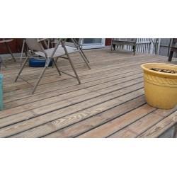 Small Crop Of Sanding A Deck