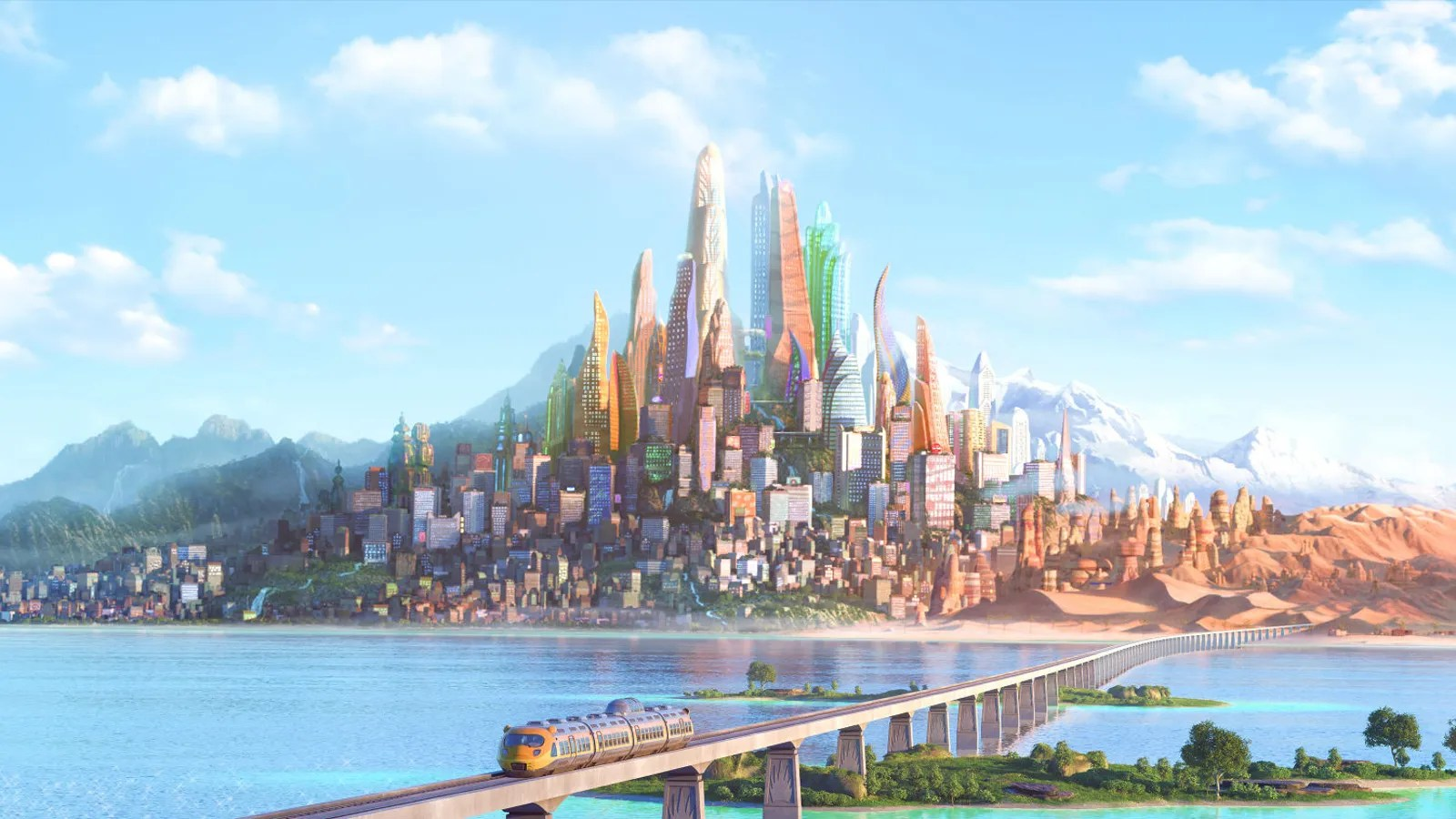 Zootopia Iphone Wallpaper This Beautiful Zootopia Concept Art Explains How All