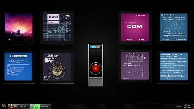 How To Make A Gif A Live Wallpaper Iphone The Hal 9000 Desktop