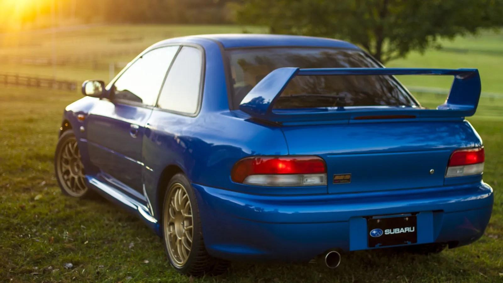 Wallpaper Import Cars The Impreza 22b Was The Ultimate Thoroughbred Subaru