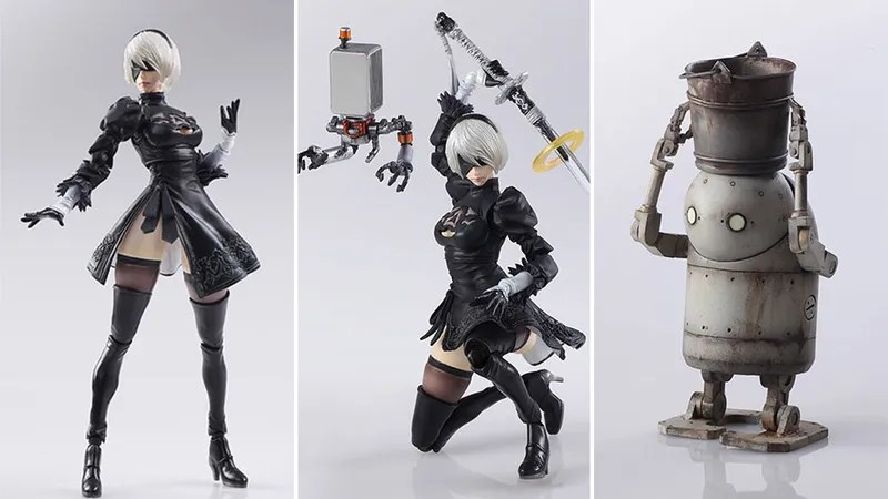 3d Shamrock Wallpaper Look At These Nier Action Figures