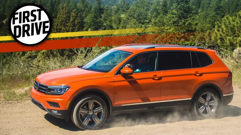 The 2018 Volkswagen Tiguan Is Sterile But Has A Third Row Because