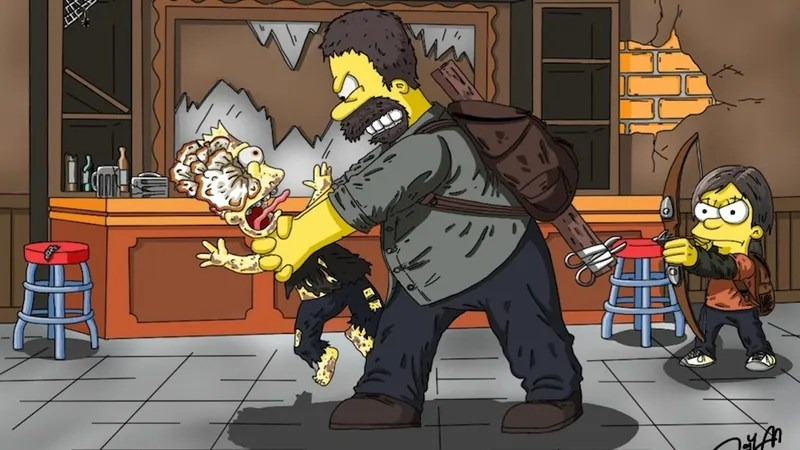 Gta Iv Wallpaper Girl If Simpsons Characters Starred In The Last Of Us