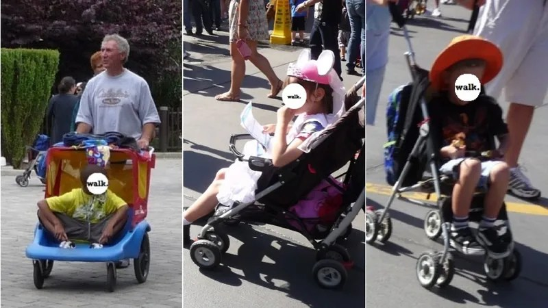 Carriage Type Strollers Judgy Mommies Get Worked Up Over Big Kids In Strollers