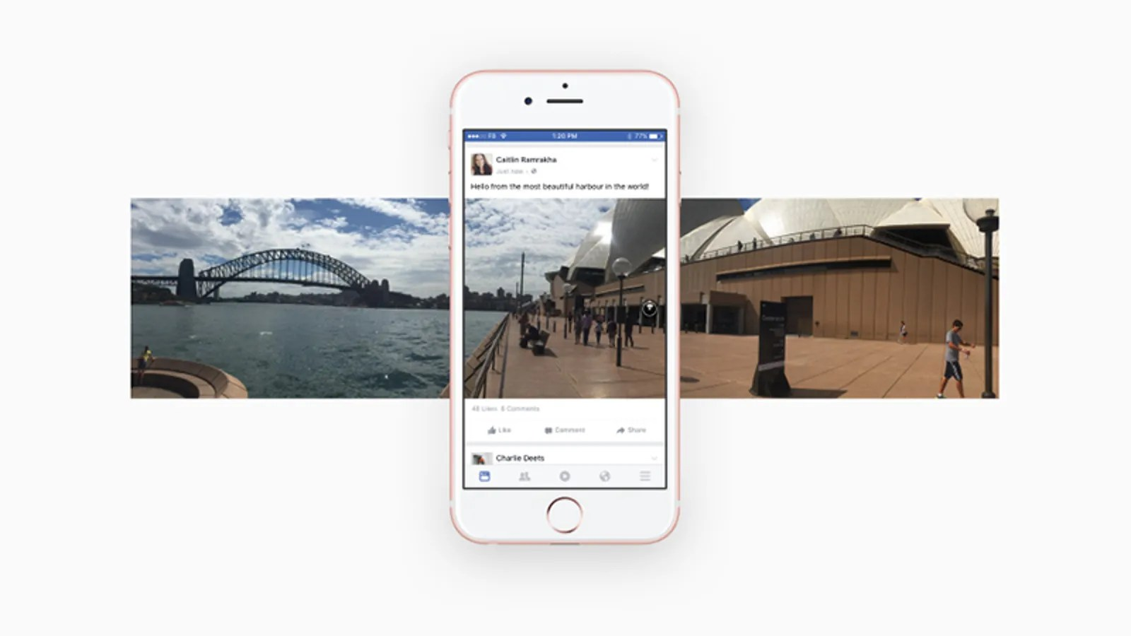 Facebook Mobile Ansicht How To Shoot 360 Degree Photos With Your Smartphone