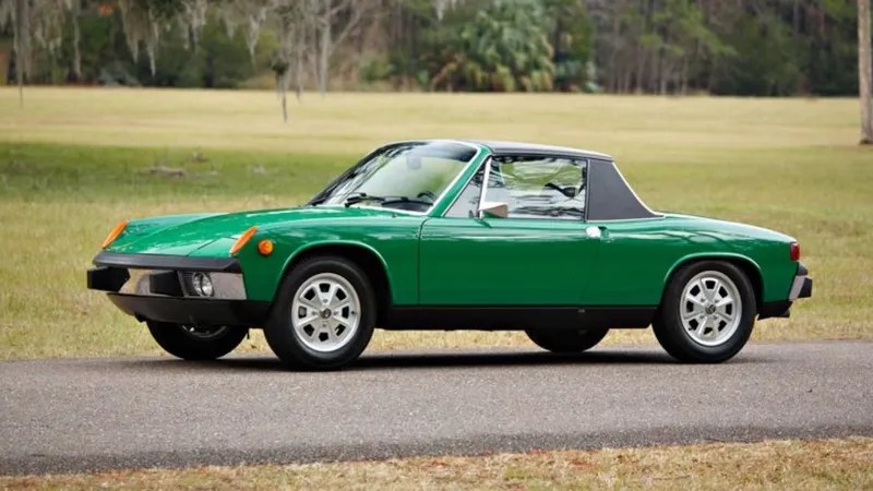 This Four Cylinder Porsche 914 Just Sold For 93000