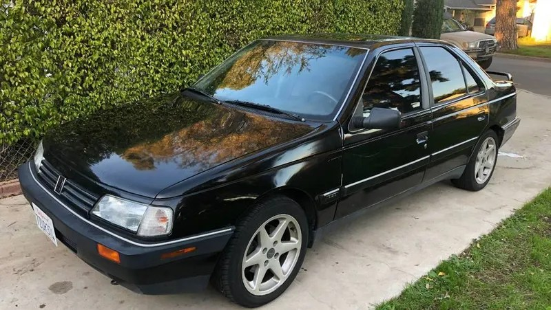 At $3,500, Could This 1989 Peugeot 405 Mi16 be the Quirkiest Daily
