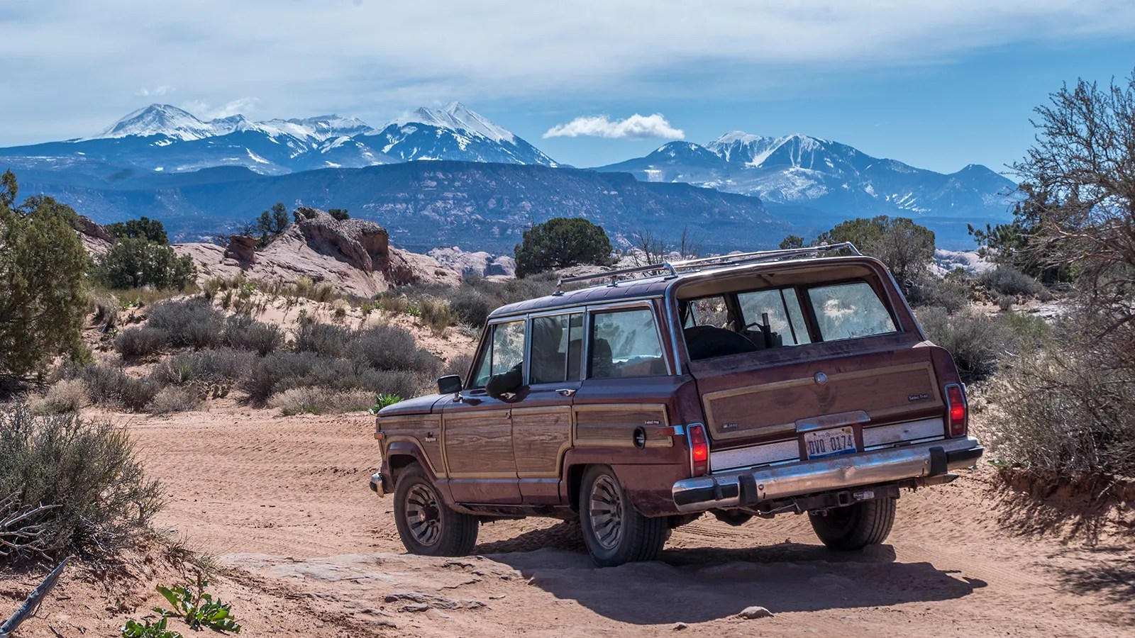 Jeep Trails My 800 Jeep Grand Wagoneer Surprised Me On The Off Road Trails Of