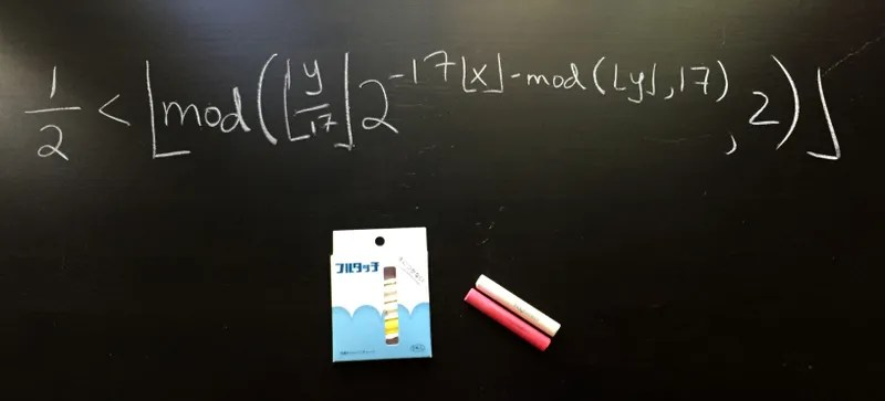 Why Mathematicians Are Hoarding This Special Type of Japanese Chalk