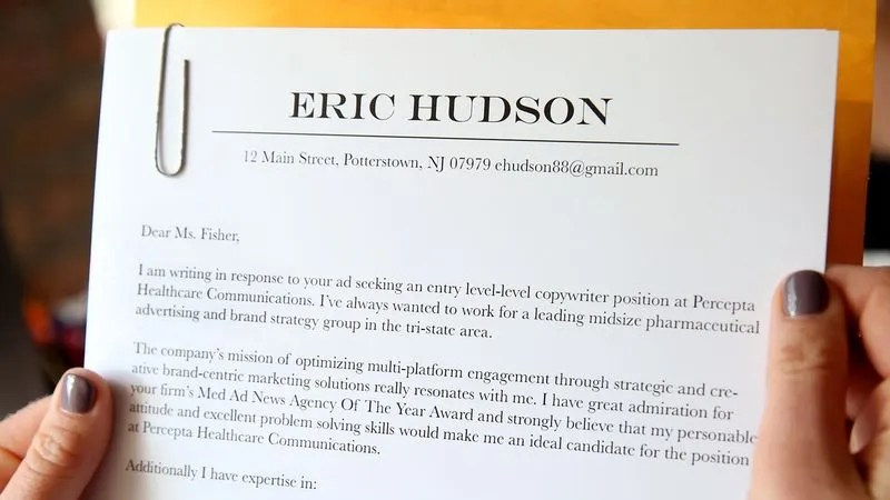 Cover Letter Specifically Tailored To Company Even Sadder Than