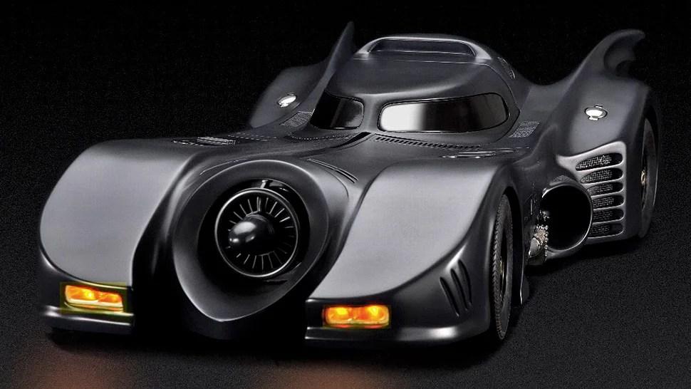 Remote Control Car Wallpaper Tim Burton Era Batmobile Model Features Pop Up Rc Machine Guns