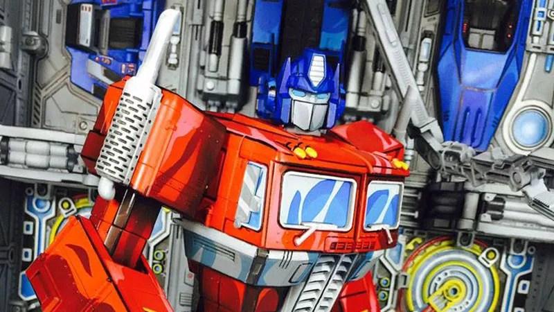 Fall Iphone Wallpaper Hd Custom Transformers Devastation Optimus Prime Figure