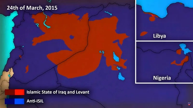 This Animated Map Of ISIS Expansion In Syria, Iraq And Beyond Is