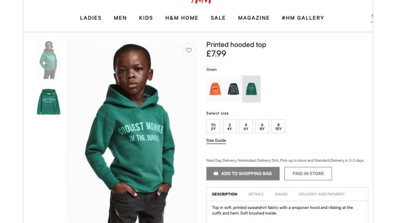 Home Office H&m The Weeknd Cuts Ties With H M After Ad Featuring Black Child