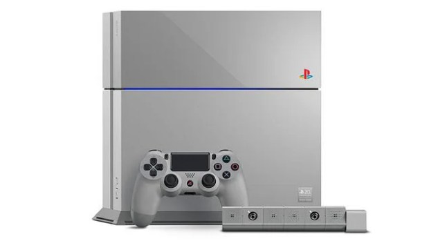 The 20th Anniversary Edition PlayStation 4 Is a Thing of Beauty