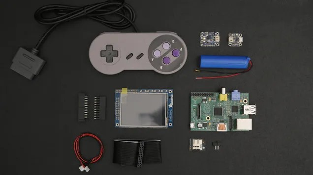 Build Your Own 3D-Printed Gameboy