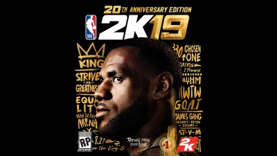 LeBron James Is NBA 2K19's Cover Star