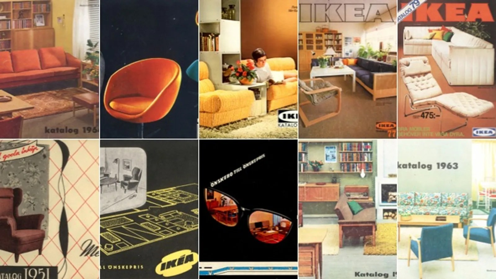Australian Online Catalogues Every Ikea Catalog Cover Since 1951