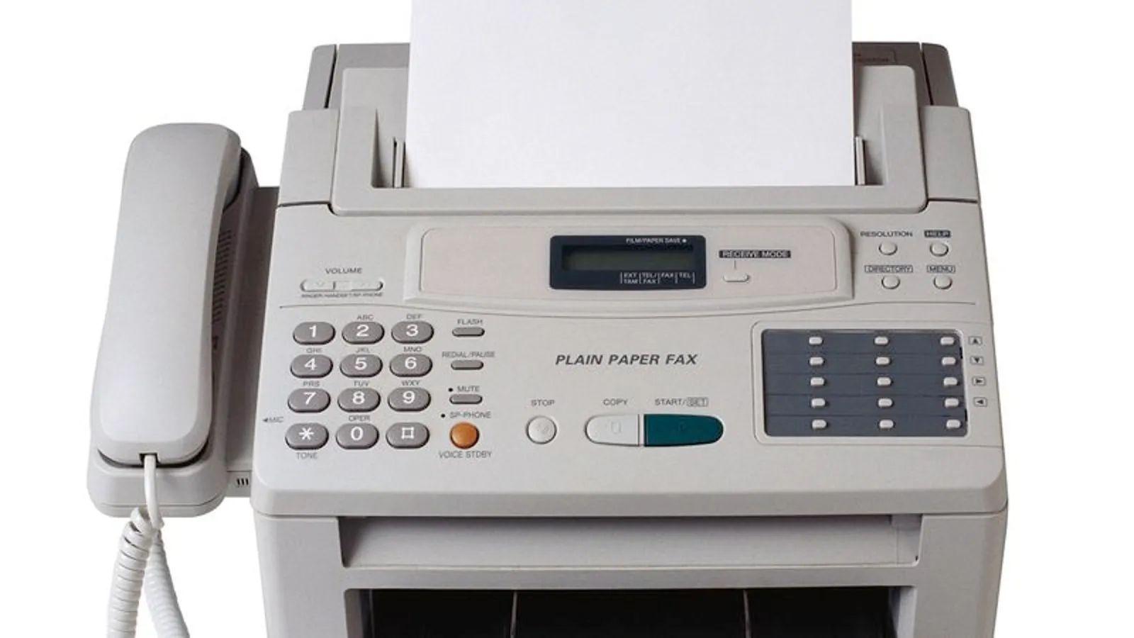 facsimile fax