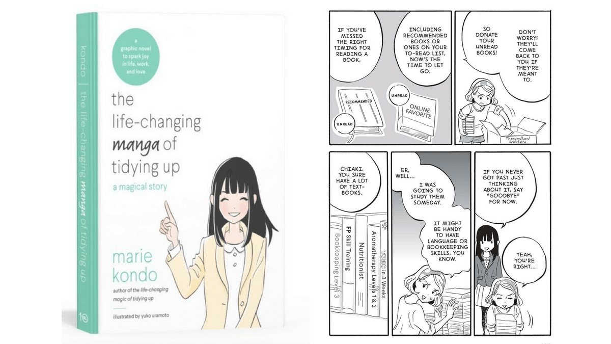 The Life Changing Magic Of Tidying The Manga Version Of The Life Changing Magic Of Tidying Up Is