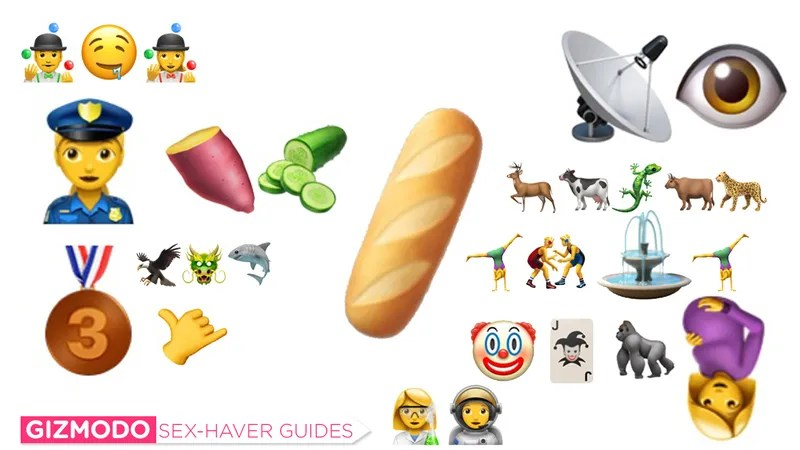 The Sex-Haver\u0027s Guide to Using the New iPhone Emoji