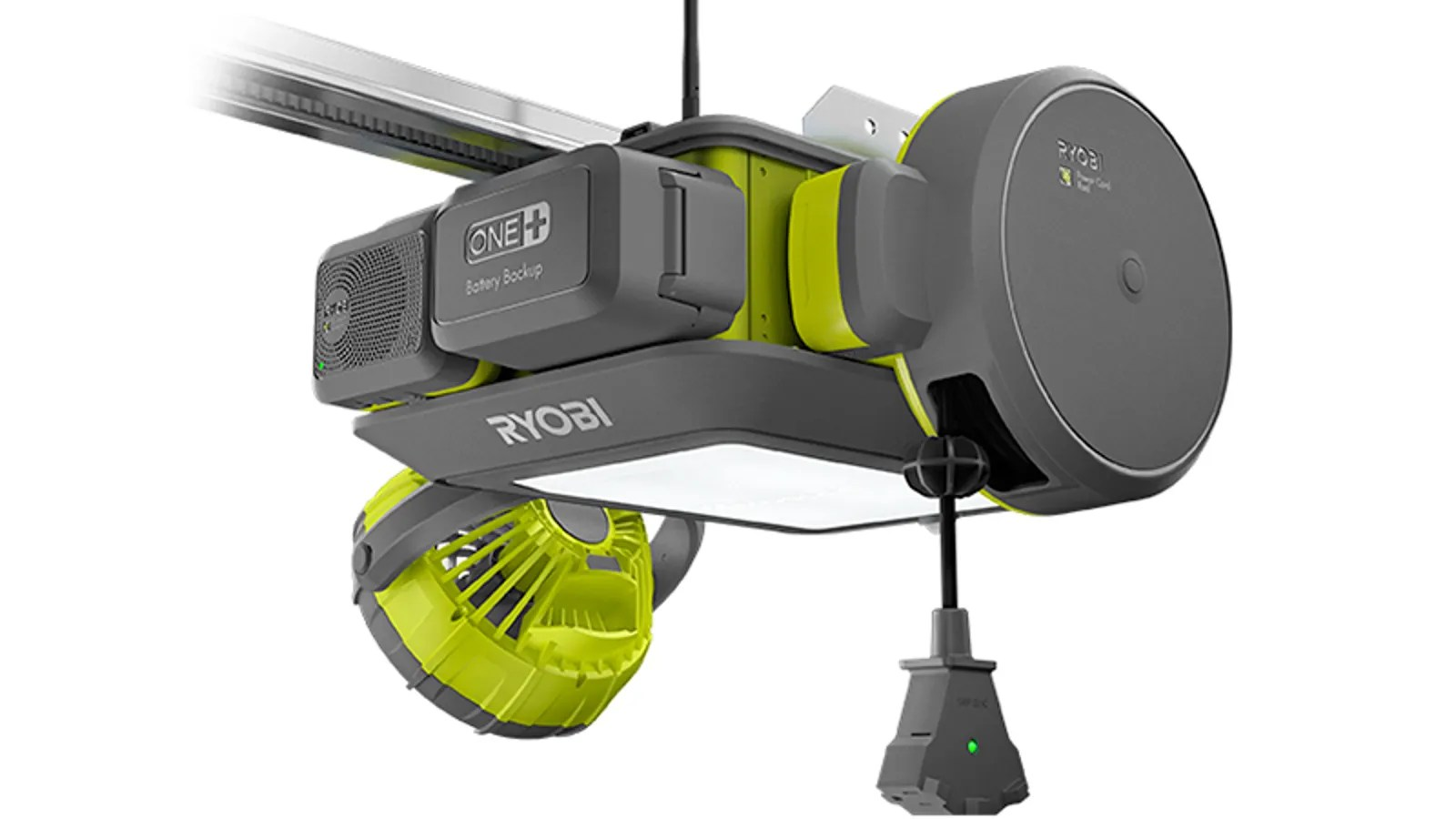 Ryobi Garage Door Fan This Modular Garage Door Opener Has More Features Than Your Car