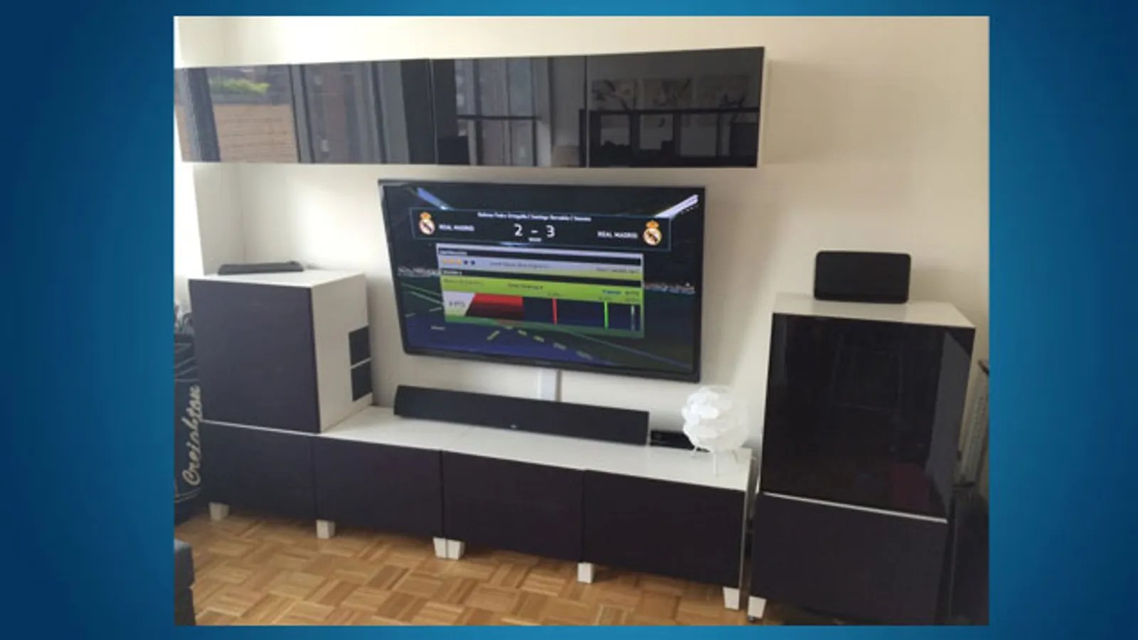 Build A Sleek Entertainment Center With Ikea Parts And