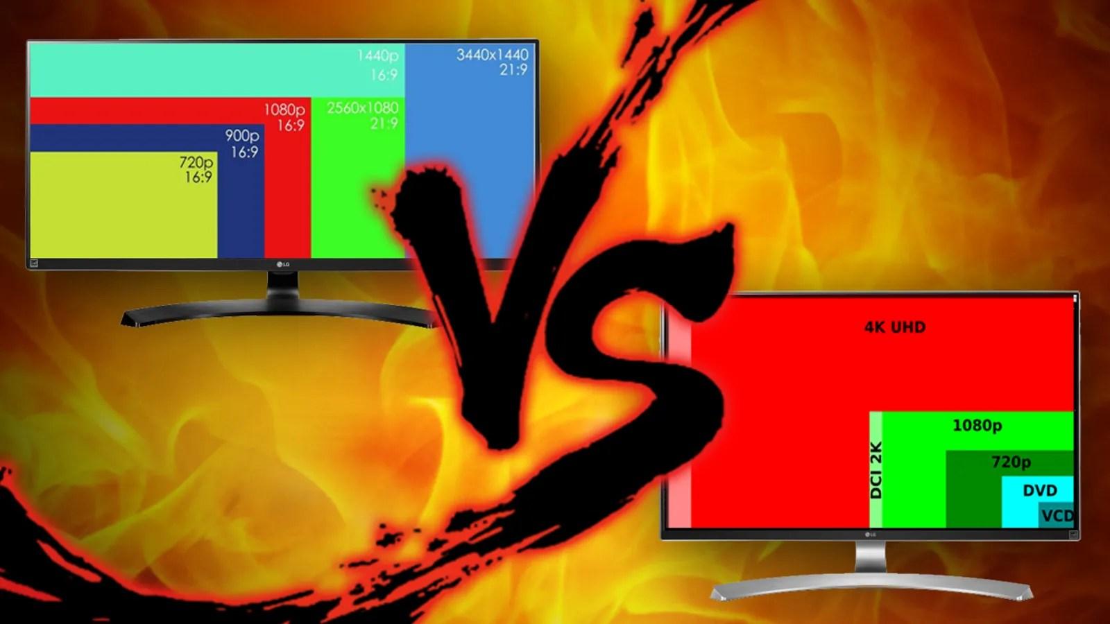 Go Get It Girl Laptop Wallpaper Screen Real Estate Showdown Ultrawide Vs 4k Monitors