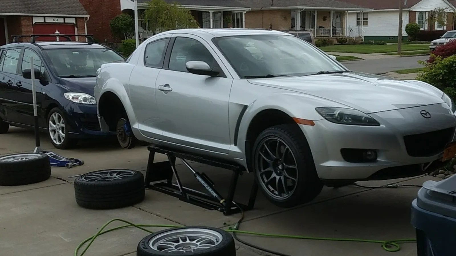In Ground Garage Car Lift Tool Review The Quickjack Is It As Good As A Real Lift Or Is It