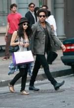 Lenny Kravitz Daughter Zoe