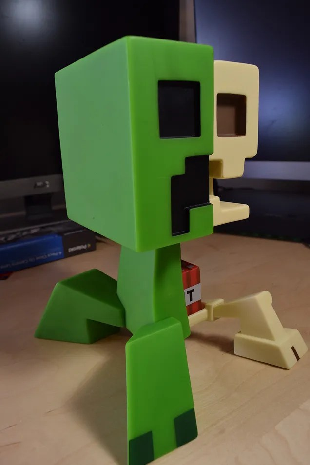 Shelf Insert The Minecraft Creeper Anatomy Doll Answers So Many Questions