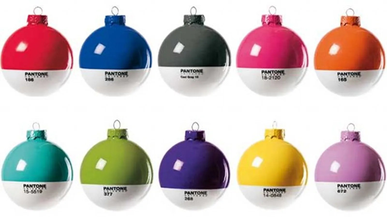 Pantone Christmas Ornaments Daily Desired Pantone Ornaments Will Make You Wish It Was