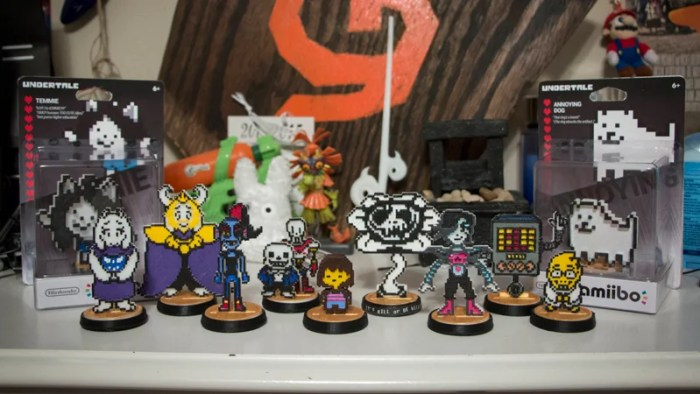 Custom Undertale Amiibos Are Works of Art