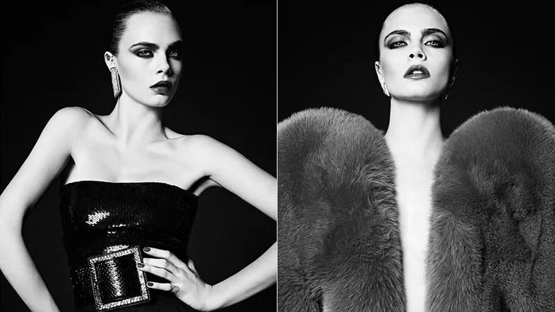Cara Delevingne Returns to Modeling, Looks Good