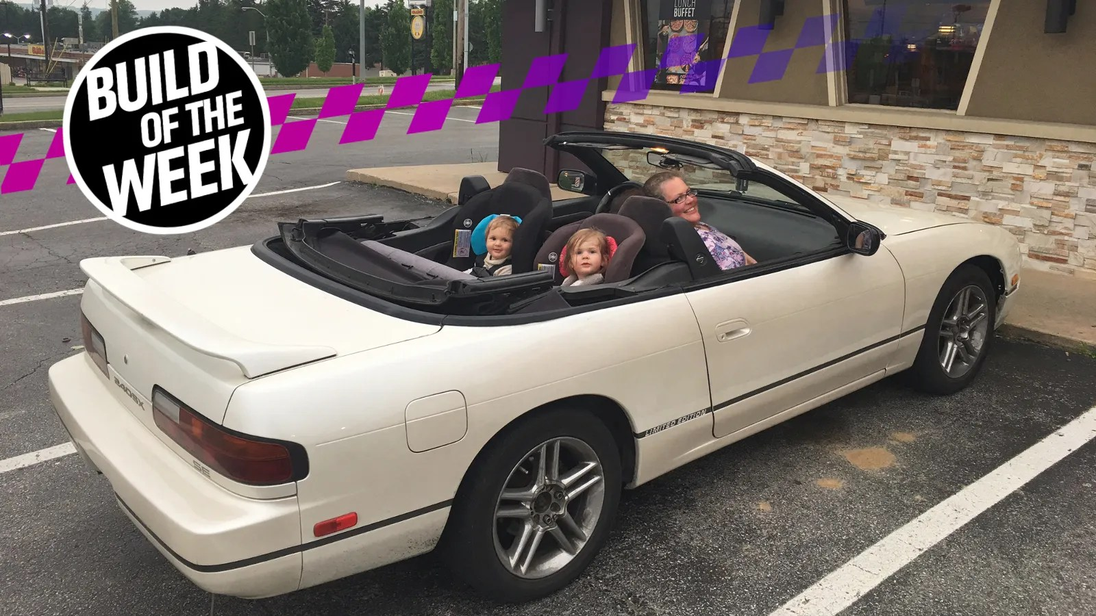 But Convertible This Nissan 240sx Convertible Was A Legendary Rip Off From Hell