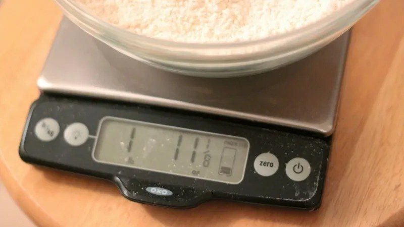 This Ingredient Weight Chart Will Make Your Baking Even Better - weight by measurements