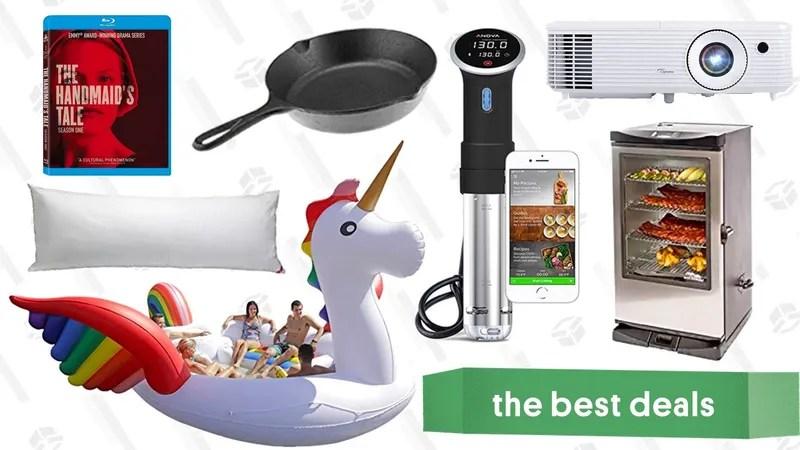 Saturday\u0027s Best Deals Anova Sous Vide Cooker, Projector, Electric