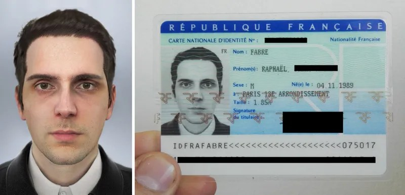 A French Artist Says He Received a National ID Card Using a Computer