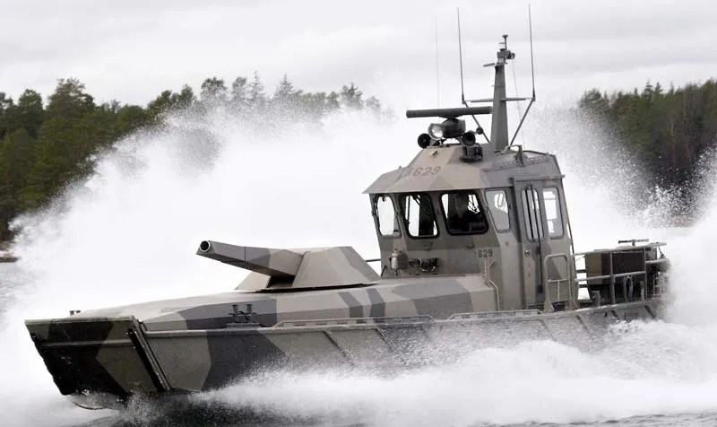 The Patria Nemo 39mortar Boat39 Is Small And Fast With A