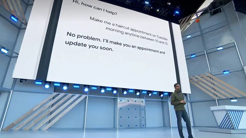 Uhh, Google Assistant Impersonating a Human on the Phone Is Scary as
