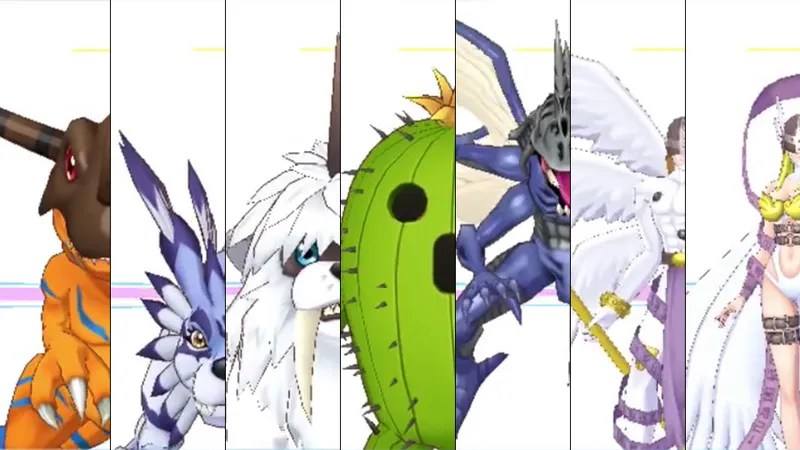 All 240 Digimon in Digimon Story Cyber Sleuth