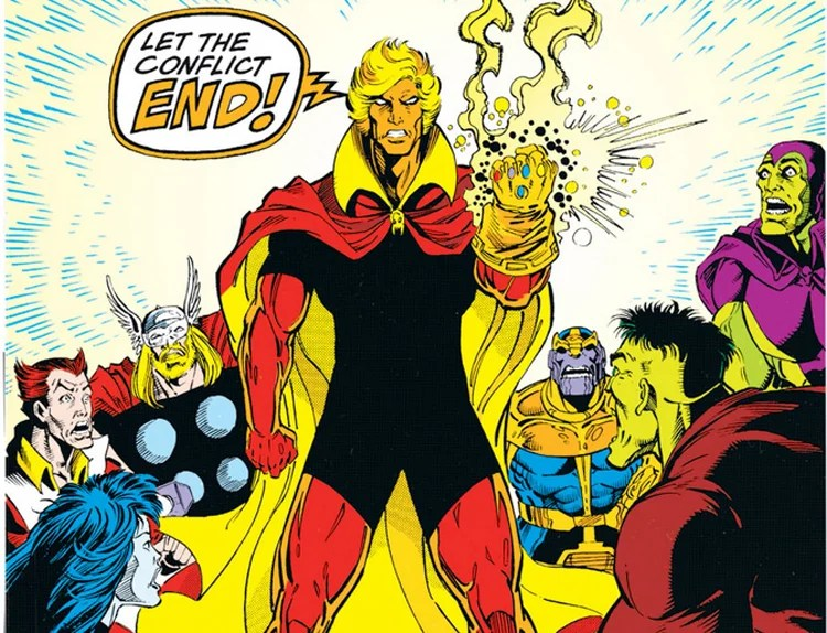 X Men Animated Series Wallpaper Who Is Adam Warlock