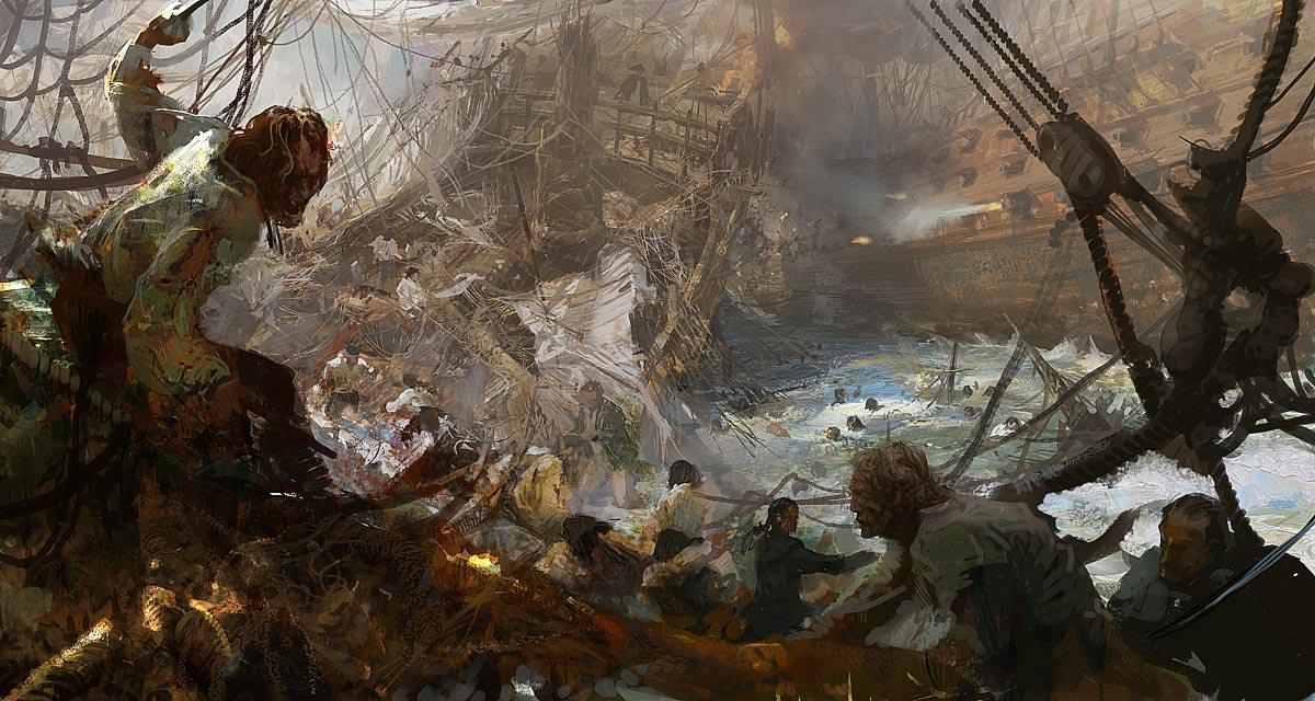 High Res Anime Wallpaper The Fantastic Worlds Of Craig Mullins One Of The Best