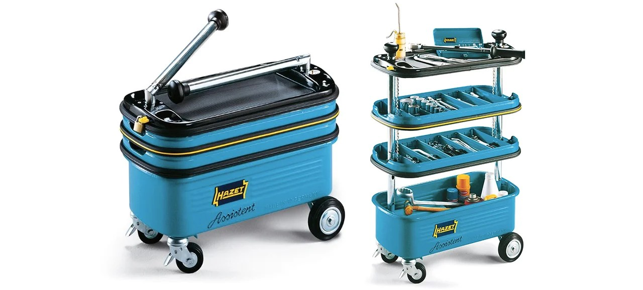 A Pop Up Toolbox On Wheels Puts All Your Tools In Easy